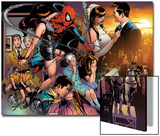 The Amazing Spider-Man No.545 Group: Spider-Man, Parker, Peter, Mary Jane Watson, and May Parker Prints by Joe Quesada