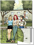 Spider-Man Loves Mary Jane Season 2 No.4 Cover: Mary Jane Watson, Stacy, Gwen, and Liz Allen Print by Terry Moore