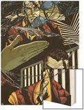 Osborn No.1: Norman Osborn Posing Wood Print by Emma Rios