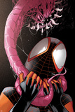 Ultimate Comics Spider-Man 19 Cover: Spider-Man Plastic Sign by Sara Pichelli