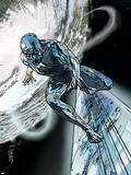 Silver Surfer No.11 Cover: Silver Surfer Wall Decal
