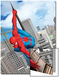 Spider-Man In the City Art