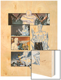 Origins of Marvel Comics: X-Men No.1: Iceman Standing Wood Print by Pablo Raimondi