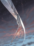 Silver Surfer: Requiem No.1 Cover: Silver Surfer Posters