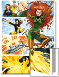 Origins of Marvel Comics: X-Men No.1: Phoenix Flying Posters by Jill Thompson