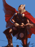 Thor: Ages Of Thunder - Reign Of Blood Cover: Thor Plastic Sign