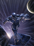 Silver Surfer No.10 Cover: Silver Surfer Wall Decal