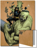 Ultimate Wolverine Vs. Hulk No.2 Cover: Wolverine and Hulk Prints by Leinil Francis Yu