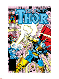 Thor No.339 Cover: Beta-Ray Bill Plastic Sign by Walt Simonson