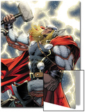 The Mighty Thor No.11 Cover: Thor Standing with Mjonir Art by Dale Keown
