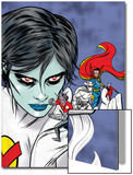 X-Statix Presents: Dead Girl No.2 Cover: Dr. Strange, Dead Girl and Phantom Rider Fighting Prints by Nick Dragotta