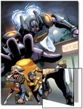 Sentinel No.5 Cover: Sentinel Poster von Joe Vriens