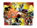 Thor: First Thunder No.5: Panels with Odin Wall Decal by Tan Eng Huat