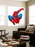 Spider Sense Spider-Man: Spring, Spider-Man Posing Wall Mural