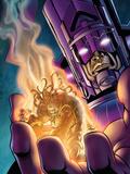 Stormbreaker: Beta Ray Bill No.4 Cover: Galactus and Stardust Prints by Andrea Di Vito