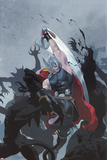 Thor: God of Thunder 3 Cover: Thor Plastic Sign by Esad Ribic