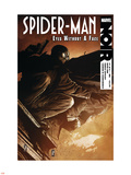 Spider-Man Noir: Eyes Without a Face No.1 Cover: Spider-Man Plastic Sign by Patrick Zircher