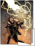 Loki No.1 Cover: Loki Standing Print by Sebastian Fiumara