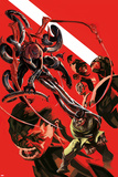Superior Spider-Man Team-Up Special 1 Cover: Spider-Man, Doctor Octopus, Beast, Iceman, Grey, Jean Plastic Sign by Michael Dialynas