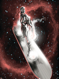 Silver Surfer: In They Name No.2 Cover: Silver Surfer Wall Decal