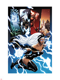 Origins of Marvel Comics: X-Men No.1: Storm Flying Plastic Sign by Terry Dodson