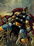Stormbreaker: The Saga of Beta Ray Bill No.2 Cover: Beta-Ray Bill Wall Decal by Andrea Di Vito