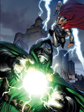Thor No.605 Cover: Dr. Doom and Thor Posters by Billy Tan