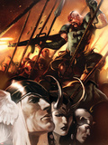 Thor God-Size Special No.1 Cover: Thor, Loki, Balder and Skurge Plastic Sign