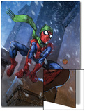 Marvel Adventures Spider-Man No.46 Cover: Spider-Man Poster by Francis Tsai