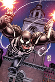 Venom 28 Cover: Venom Plastic Sign by Shane Davis