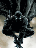 Spider-Man Noir No.1 Cover: Spider-Man Wall Decal by Patrick Zircher