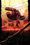 Scarlet Spider 12.1 Cover: Scarlet Spider Wall Decal by Ryan Stegman