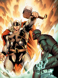 Thor No.3 Cover: Thor Plastic Sign by Olivier Coipel