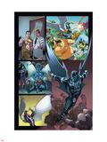 Origins of Marvel Comics: X-Men No.1: Archangel Flying Plastic Sign by Tom Raney