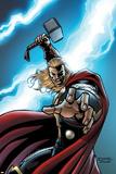 Thor: Crown of Fools 1 Cover: Thor Signe en plastique rigide par Andrea Di Vito