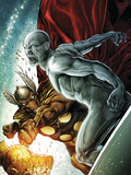 Beta Ray Bill: Godhunter No.2 Cover: Beta-Ray Bill and Silver Surfer Plastic Sign by Patrick Zircher