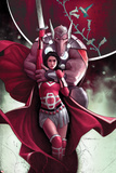 Journey into Mystery 653 Cover: Sif, Beta-Ray Bill Plastic Sign by Jeff Dekal
