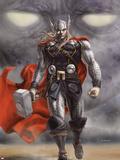 Thor Walking Away Plastic Sign