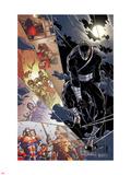 Origins of Marvel Comics: X-Men No.1: Colossus Walking Plastic Sign by Giuseppe Camuncoli