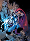 Thor: Truth Of History No.1 Cover: Thor Plastic Sign by Alan Davis