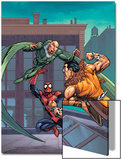 Marvel Adventures Spider-Man No.7 Cover: Spider-Man, Kraven The Hunter and Vulture Posters by Tony Daniel