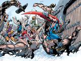 Thor: Truth Of History No.1 Group: Thor, Sif and Balder Plastic Sign by Alan Davis