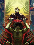 Journey Into Mystery No.636 Cover: Nightmare and Loki Plastic Sign by Stephanie Hans