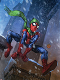 Marvel Adventures Spider-Man No.46 Cover: Spider-Man Plastic Sign by Francis Tsai