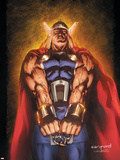 Thor: The Trial of Thor No.1 Cover: Thor Plastic Sign by Cary Nord