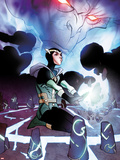 Journey Into Mystery No.626.1 Cover: Loki Kneeling Plastic Sign by Pasqual Ferry