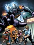 Sentinel No.5 Cover: Sentinel Wandtattoo von Joe Vriens