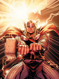 Thor No.11 Cover: Thor Plastic Sign by Olivier Coipel