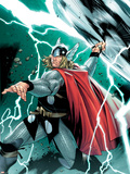 Thor No.1 Cover: Thor Plastic Sign by Olivier Coipel