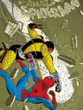 The Amazing Spider-Man No.579 Cover: Spider-Man and Shocker Plastic Sign by Marcos Martin
